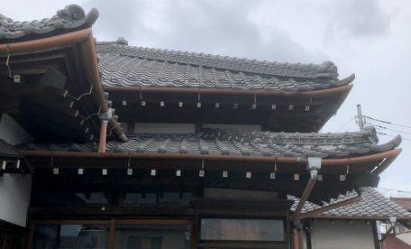保工務店施工事例:瓦の修理