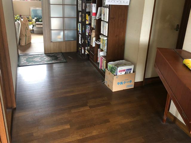 保工務店 床の張替え